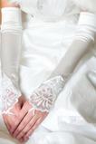 Guanti da sposa Elegante Taffeta Beach Applicare Inverno