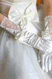 Gonna di autunno dei guanti di cerimonia nuziale del tessuto del merletto di fascino