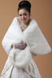 Scialle da sposa Formale inverno senza maniche all'aperto
