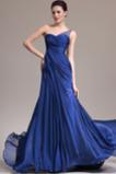Vestito da sera Sirena Senza maniche Elegante Singola spalla Coda a Strascico Cappella