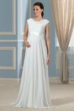 Vestito da nozze Maniche cotta Sala Vita alta Elegante Strascico spazzata