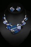 La donna fiorisce la collana d'argento di vendita calda di cristallo