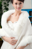 Scialle da sposa invernale Sleeveless Button Room
