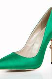 Moda sexy tacchi alti scarpe da sposa a punta scarpe da sposa economici scarpe da damigella d'onore