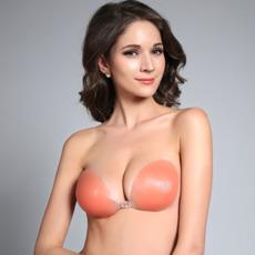 Colore della pelle Enhancement del seno Anti svuotato raccolti Stealth Invisible reggiseno
