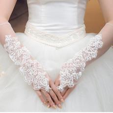 Cappella di guanti di nozze Applicazione estiva poetica Tulle