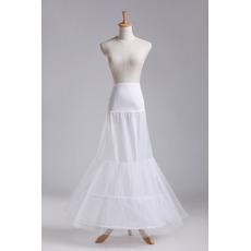 Petticoat di nozze Filato doppio Due bordi Corsetto perimetrale netto forte