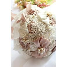 Tema bouquet da sposa di nozze bouquet creativo di nastro