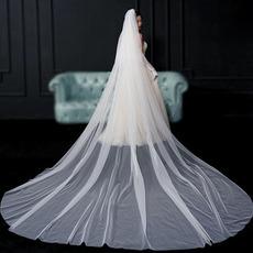 Velo da sposa velo semplice da sposa foto da sposa velo lungo accessori da sposa