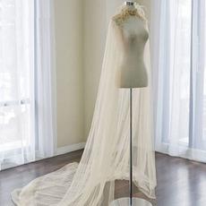 Scialle da sposa in tulle scialle da sposa lunghezza 2M