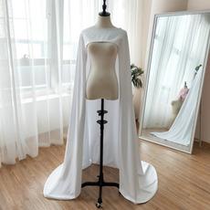 Scialle in raso scialle da sposa sposa scialle unico lunghezza 200 cm