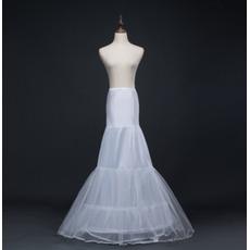 Vestito da cerimonia nuziale del corsetto di spandex lunga del petticoat di cerimonia nuziale