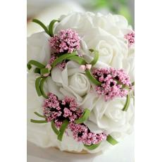 Il bouquet di fiori di simulazione sposa bridesmaid bouquet di nozze