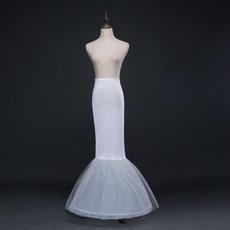 Sposa da sposa Mermaid Frameless Spandex Vita elastica Abito completo