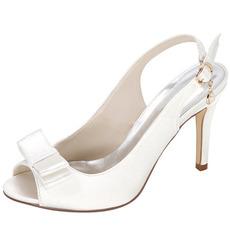 Tacchi alti in raso estivo Nobili eleganti banchetti Tacchi alti Scarpe da ballo per donna