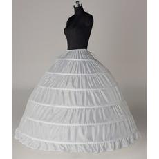 Petticoat di cerimonia nuziale Six rims Expand Width di stringa Vestito pieno regolabile