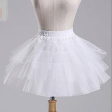 Vestito elastico del bicchierino del bicchierino del pannello esterno del petticoat di cerimonia nuziale