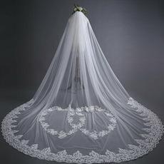 Velo da sposa in pizzo velo da sposa da trascinamento lungo 3 metri accessori da sposa all'ingrosso della fabbrica