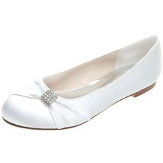 Scarpe basse scarpe da sposa premaman in raso scarpe da sposa taglie forti
