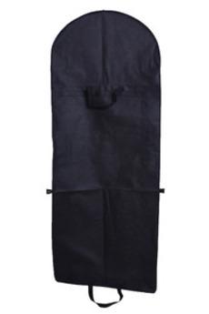 Il tessuto non tessuto nero e vestito grande vestito da cerimonia nuziale pieghevole della