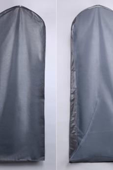 Copertura di polvere 155 cm sacchetto di polvere trasparente d'argento del vestito da cerimonia nuziale