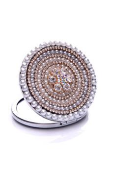Diametro Piccolo Specchio di Pubblicità Di Diamante Intarsiato Di Grado Di Grado Di Grado