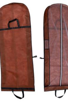 Brown copre la copertura antipolvere pieghevole del sacchetto antipolvere del doppio uso del Brown