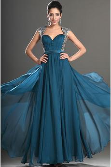 Vestito da ballo Elegante Sovrapposizione di tulle Corsetto pieghettato